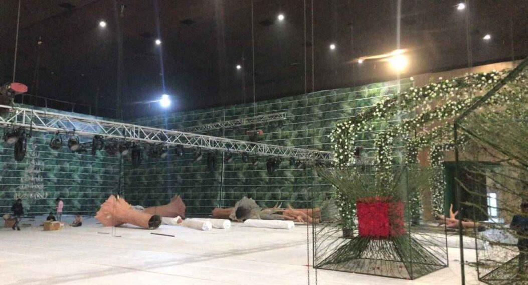 Wedding Backdrops at AOne Ambience Mall Gurgaon